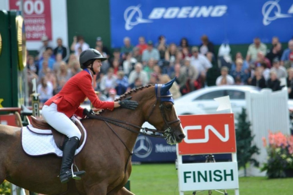 2 Skippy II nakomelingen in top 10 van GP van CSIO 5*-W